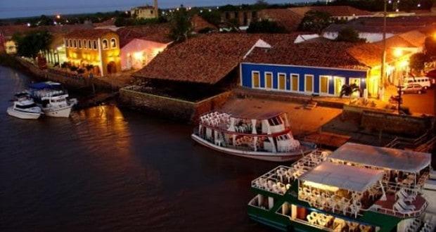 Porto das Barcas em Parnaíba