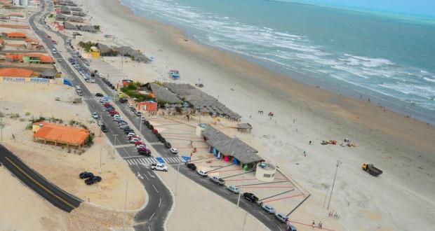 Praia de Atalaia em Luís Correia