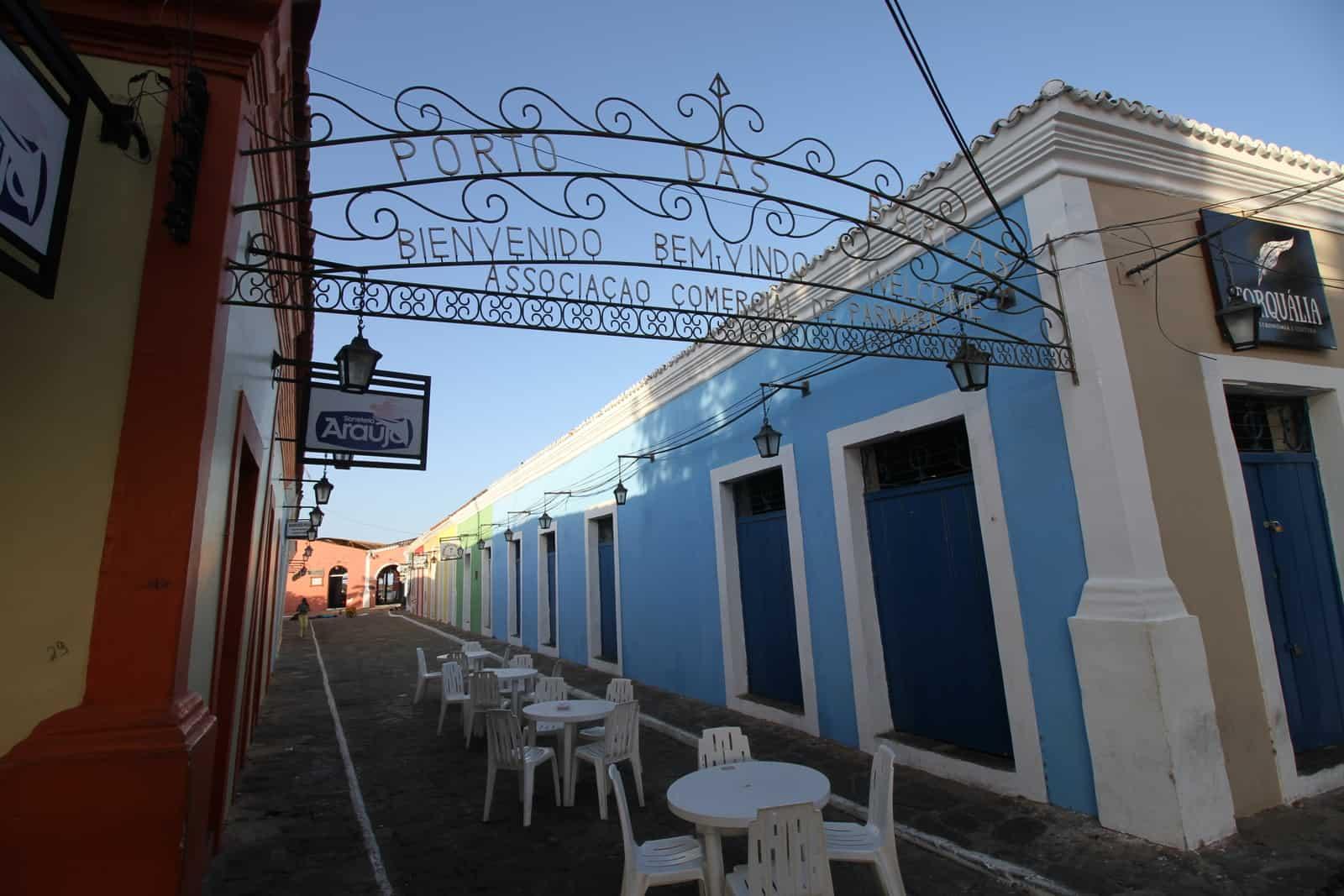 Porto das Barcas, centro Histórico de Parnaíba
