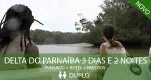 Pacote Delta do Parnaíba 3 dias e 2 noites (Econômico)